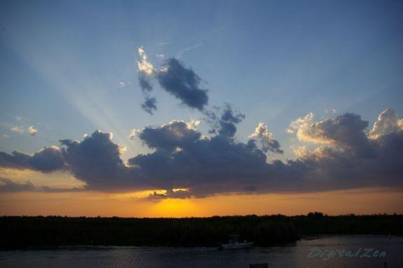 Sunset at the Loxahatchee National Wildlife Refuge, Delray Beach, FL